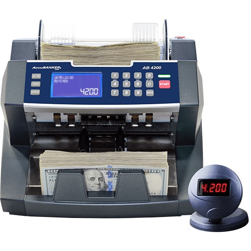 1-AccuBANKER AB 4200 UV/MG počítačka bankovek