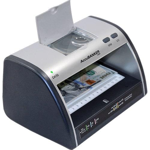 2-AccuBANKER LED430 tester bankovek