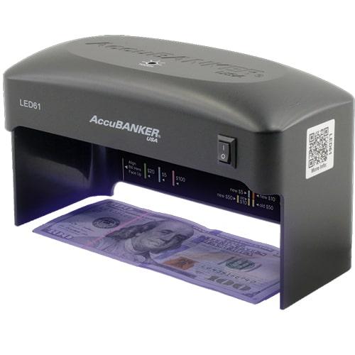 1-AccuBANKER LED61 tester bankovek